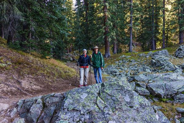 Wheeler Peak Climb, Oct 2015