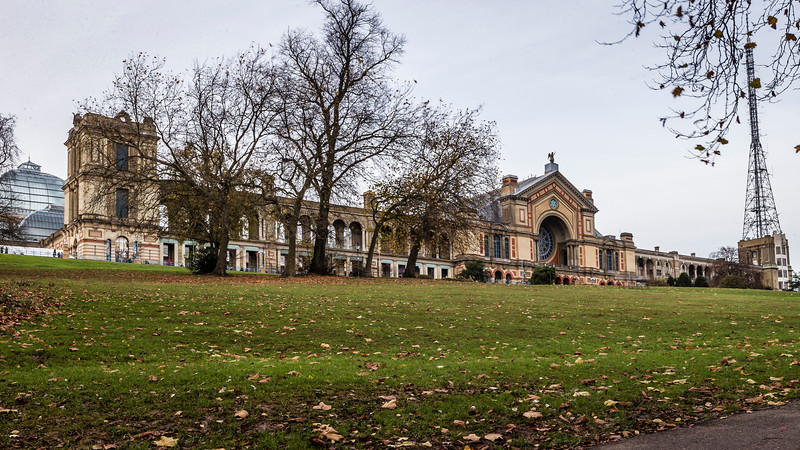 Ally Pally In Autumn