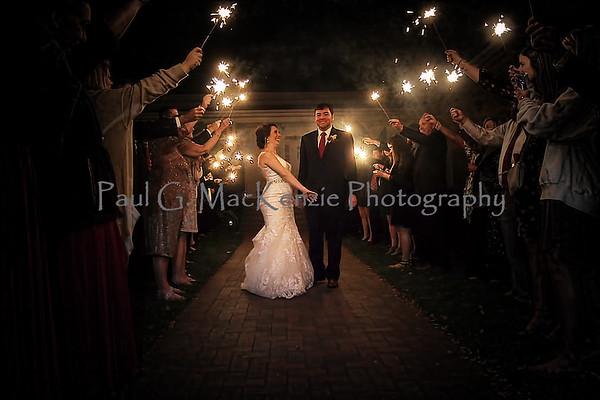 Kelsey Maffett and Cameron Gibson's Wedding, 3 November 2018