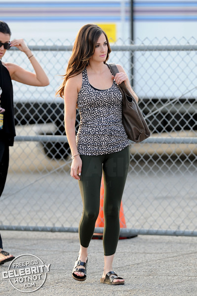 Country Singer Kacey Musgraves Fashions Yoga Outfit in LA
