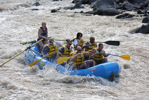 Colorado Rafting - Aug 2010