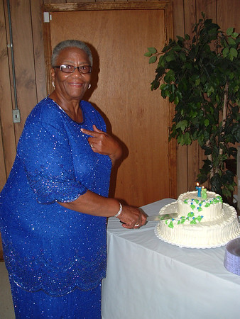 Mildred Bennett 75th Birthday