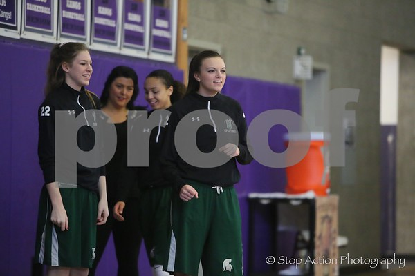 2016-02-18 Issaquah Girls Basketball vs Skyline