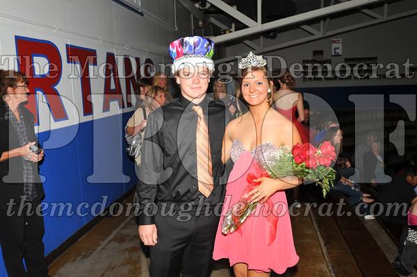 2012 Homecoming Royalty 09-29-12