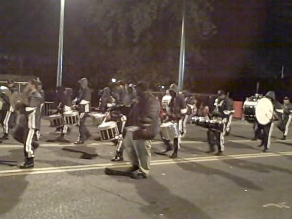 Hillcrest High drumline, Parade.jpg