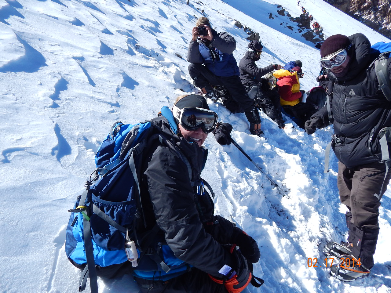 Only 4 more hours to go to reach the summit!