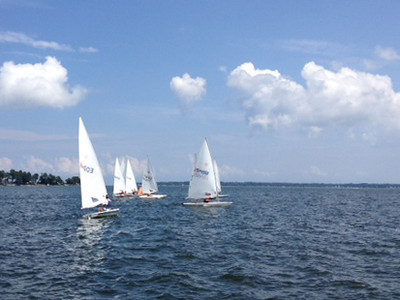 2/28 FBYC Laser Summer Regatta  Photo by Lisa Radtke
