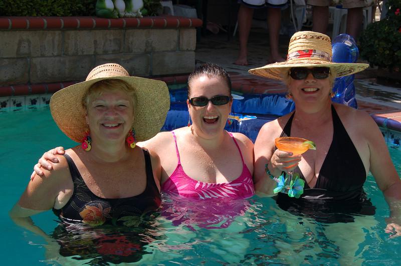 Joy, Ann & Grace.  Smile, girls!!