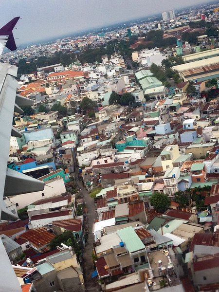 Landing in Ho Chi Minh