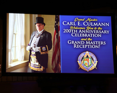 200th Anniversary Celebration & Grand Master's Reception 08-25-2018