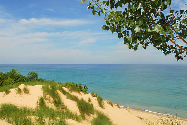 20080724 Mt Baldy, Lake Michigan