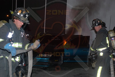 Bethpage F.D. Multiple Car Fires 585 Hicksville Rd. 6/26/09