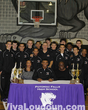 College Signing: Graves (Mount St. Mary's) Boys Hoops - Potomac Falls