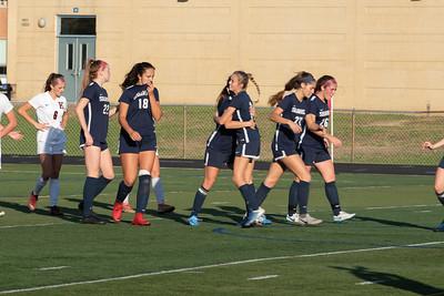 shs girls soccer vs Kingsway 110818