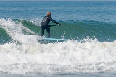 Alex SUPing Long Beach 5-8-18