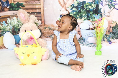 Naomi's Easter Portrait