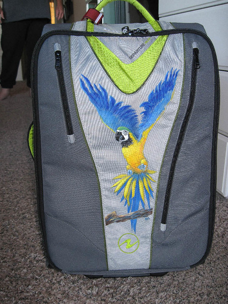 Rolly Bag Parrot