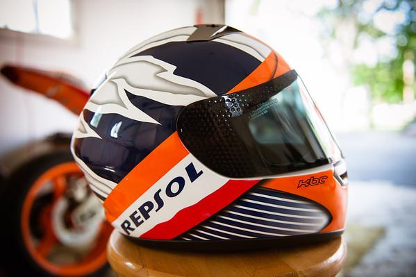 KBC Repsol Helmet