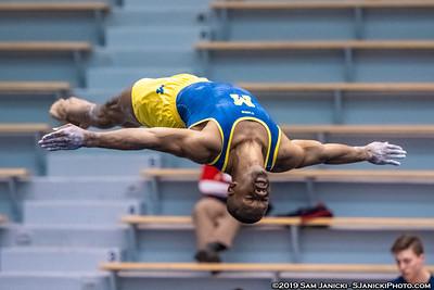 Floor - UM Men's Gymnastics Vs UIC 3-30-19