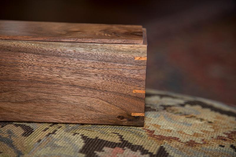 Walnut Wine Box