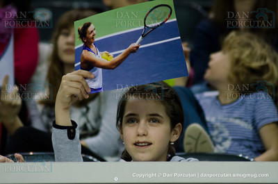 Fed Cup - World Group Play-Off - Romania vs. Germany - Workouts - Day III