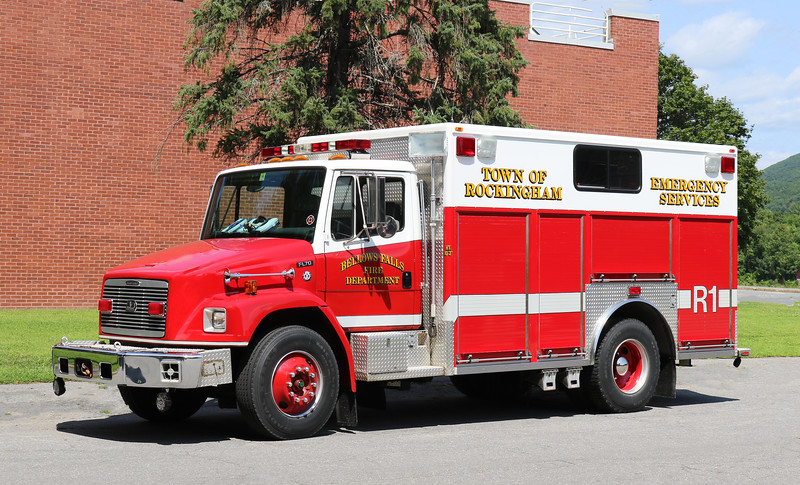 Rescue 1.  1996 Freightliner / 3D Rescue