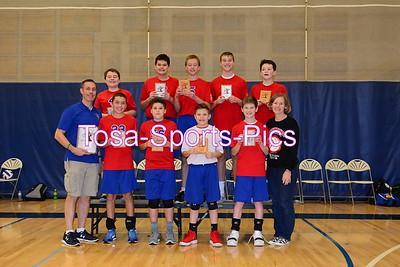 2018 Seton Volleyball