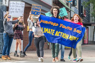 Climate Strike Day in Medford