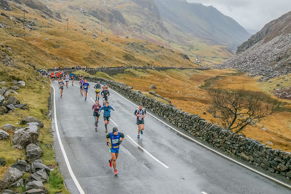 Snowdonia Marathon - Pen y Pass Scenic Shots Half Way