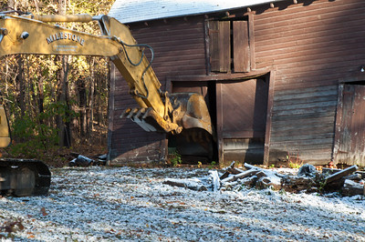 Barn Demolition