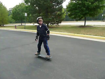 2007 Connor Skateboarding on his Birthday