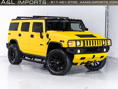 Yellow Kevlar Hummer H2- 5GRGN23818H102142