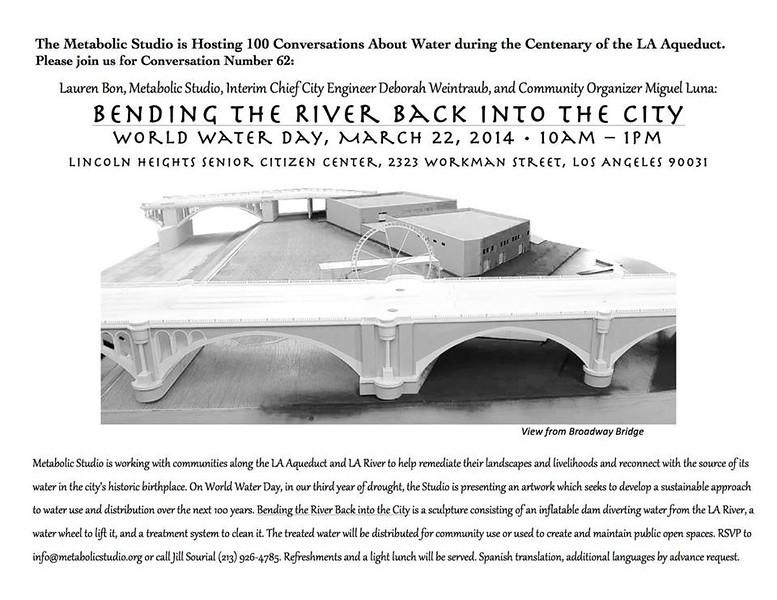 2014, Bending the River Flyer