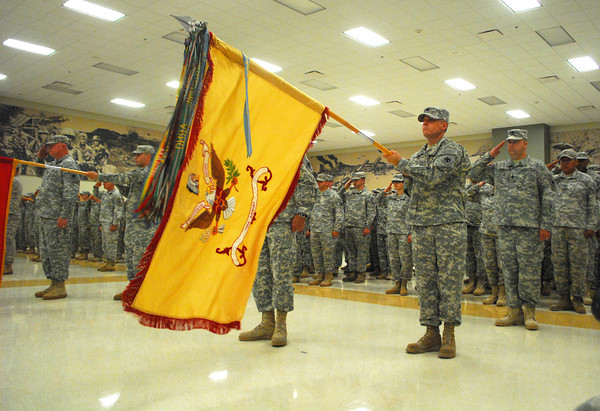 Okla. National Guard Change of Command
