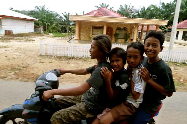 Cycling across Bali, Java and Sumatra, (Indonesia) 2011
