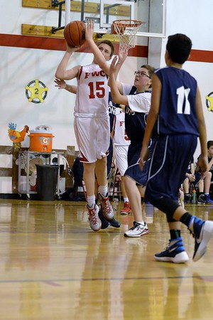 FWC Basketball Boys 8th  1-21-2016