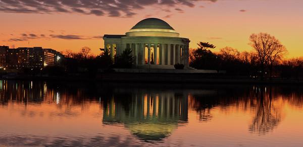 Tidal Basin & Jefferson Memorial