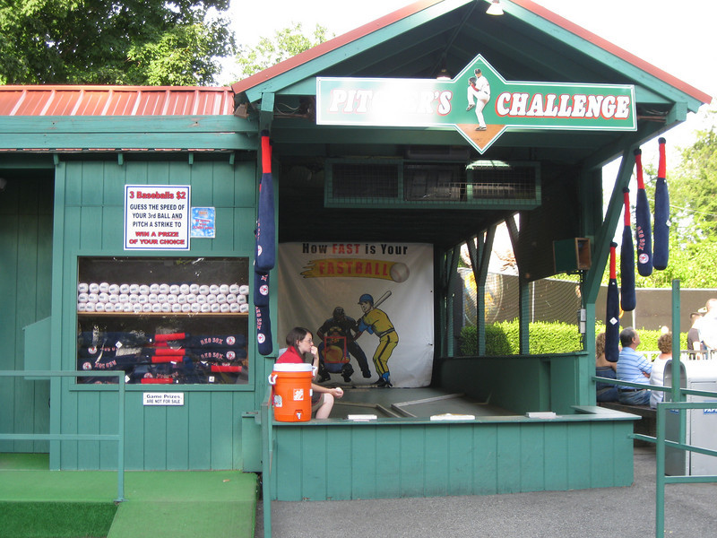Pitcher's Challenge game.