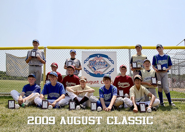 2009  August Classic - player photos