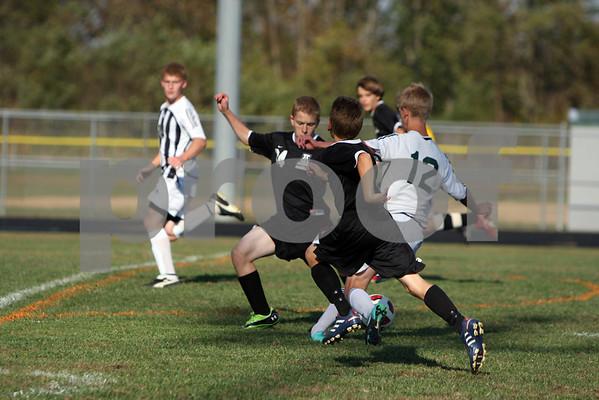 JV soccer vs Amelia 10/6/10
