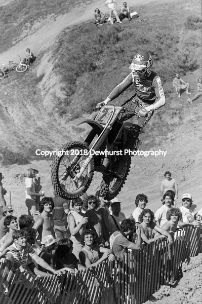 Saddleback Motocross National 1981
