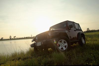 Brad Hardy's Jeep