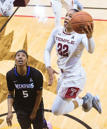 Temple vs. Memphis womens basketball