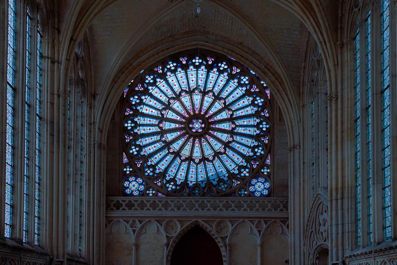 Saint-Germer-de-Fly Abbey - Rose Window