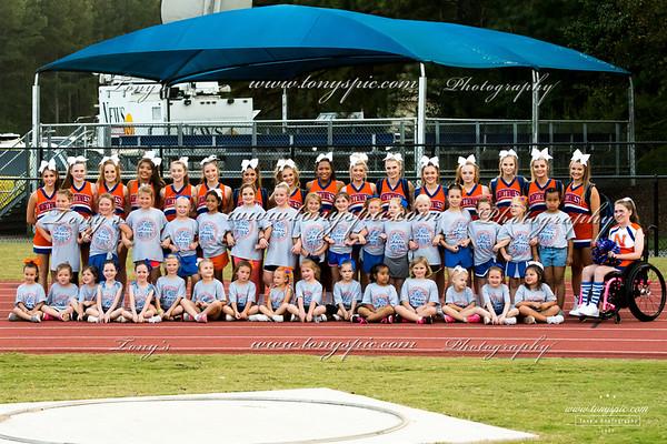 Cheerleaders @ Ridgeland Game 22 Sept 2017