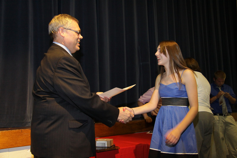 Awards Night 2012 - Student of the Year: Physical Science