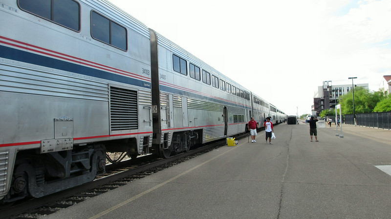 Amtrak's Sunset Limited Los Angeles to New Orleans