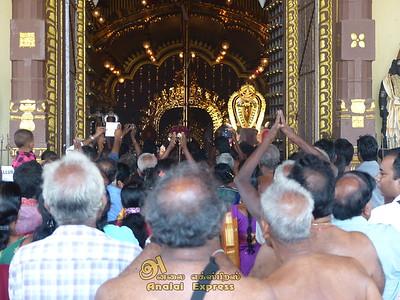 யாழ்-நல்லூர் கந்தசுவாமி கோவில் ஒன்பதாம் திருவிழா.