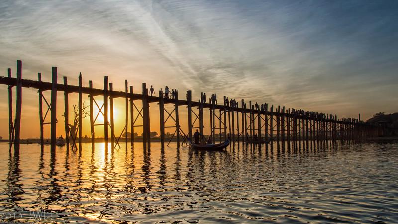 U Bien Bridge December 2013