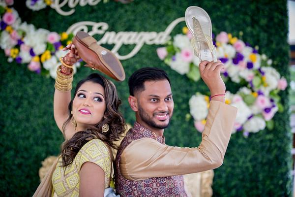 Sunny Rima Engagement